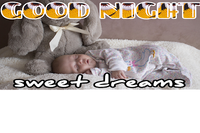 Good night baby pic, good night baby image, cute baby image good night