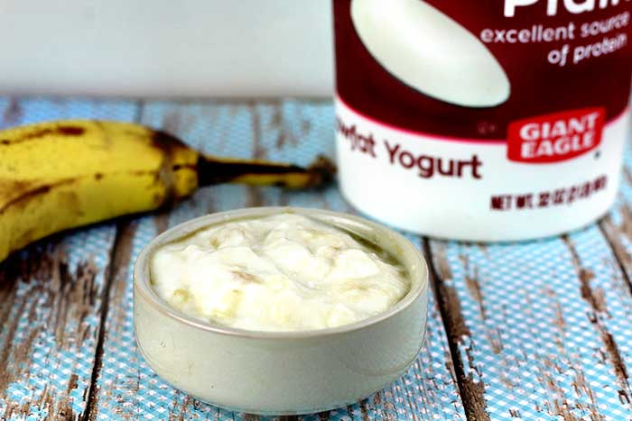 Banana Yogurt Face Mask DIY + Banana Face Mask Benefits