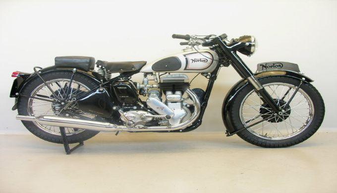 Motor Jadul Antik Norton