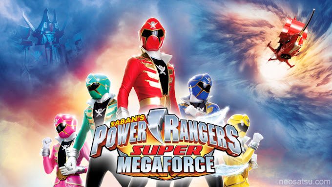 Power Rangers Super Megaforce Batch Subtitle Indonesia