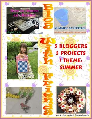 Blog With Friends July Summer themes | www.BakingInATornado.com | #MyGraphics