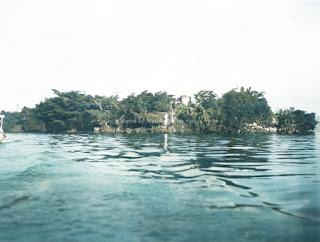 pemandangan dari pulau tao