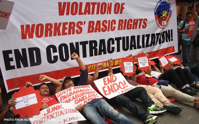 Rody firm in ending contractualization