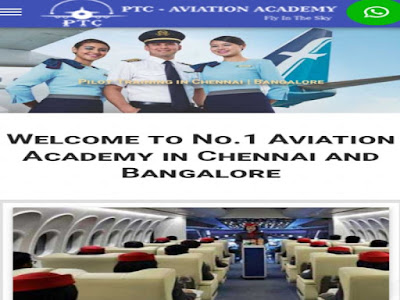 Top-10-air-hostess-institute-in-India-PTC-aviation-academy-bangalore