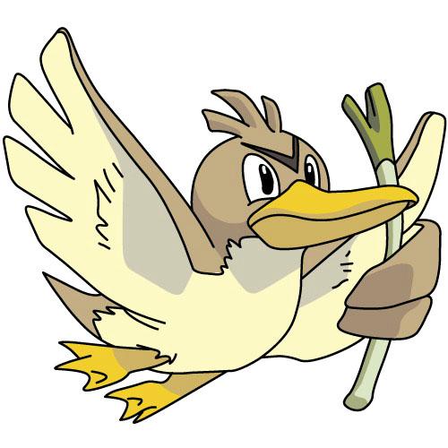 pokémon voador farfetch'd
