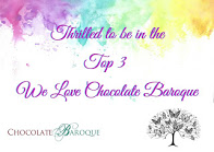 Honoured to be in the Top 3 @ We Love Chocolate Baroque