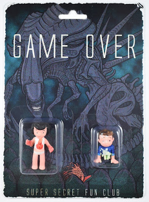 "Aliens ""Game Over"" Retro Mini Figure Set by Super Secret Fun Club"