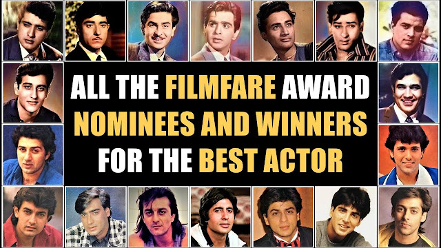 Best Bollywood Actor Winners List for Filmfare Award All Time