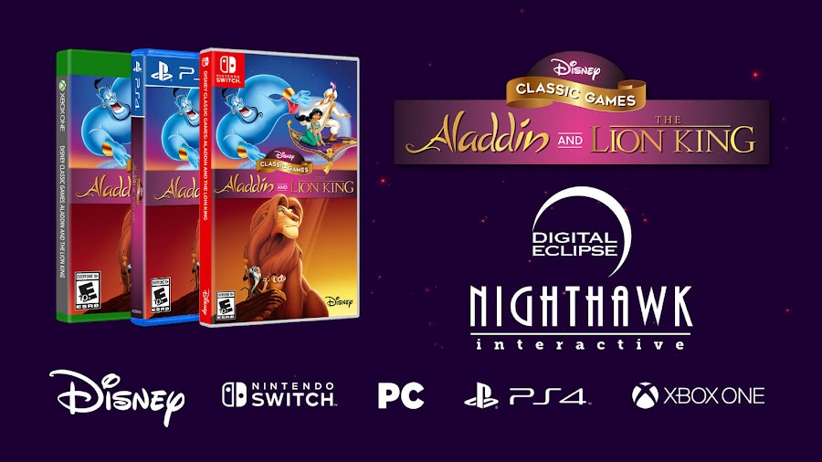 disney classic games aladdin lion king remastered pc ps4 switch xbox digital eclipse nighthawk interactive