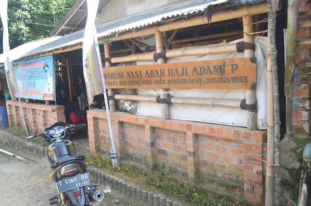 Basecamp Gunung Lembu  jadi satu dengan warung Abah Haji Adang | JelajahSuwanto