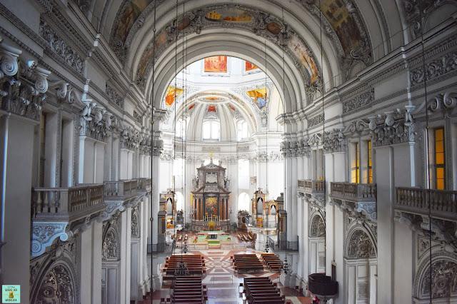 Interior de la Catedral de Salzburg