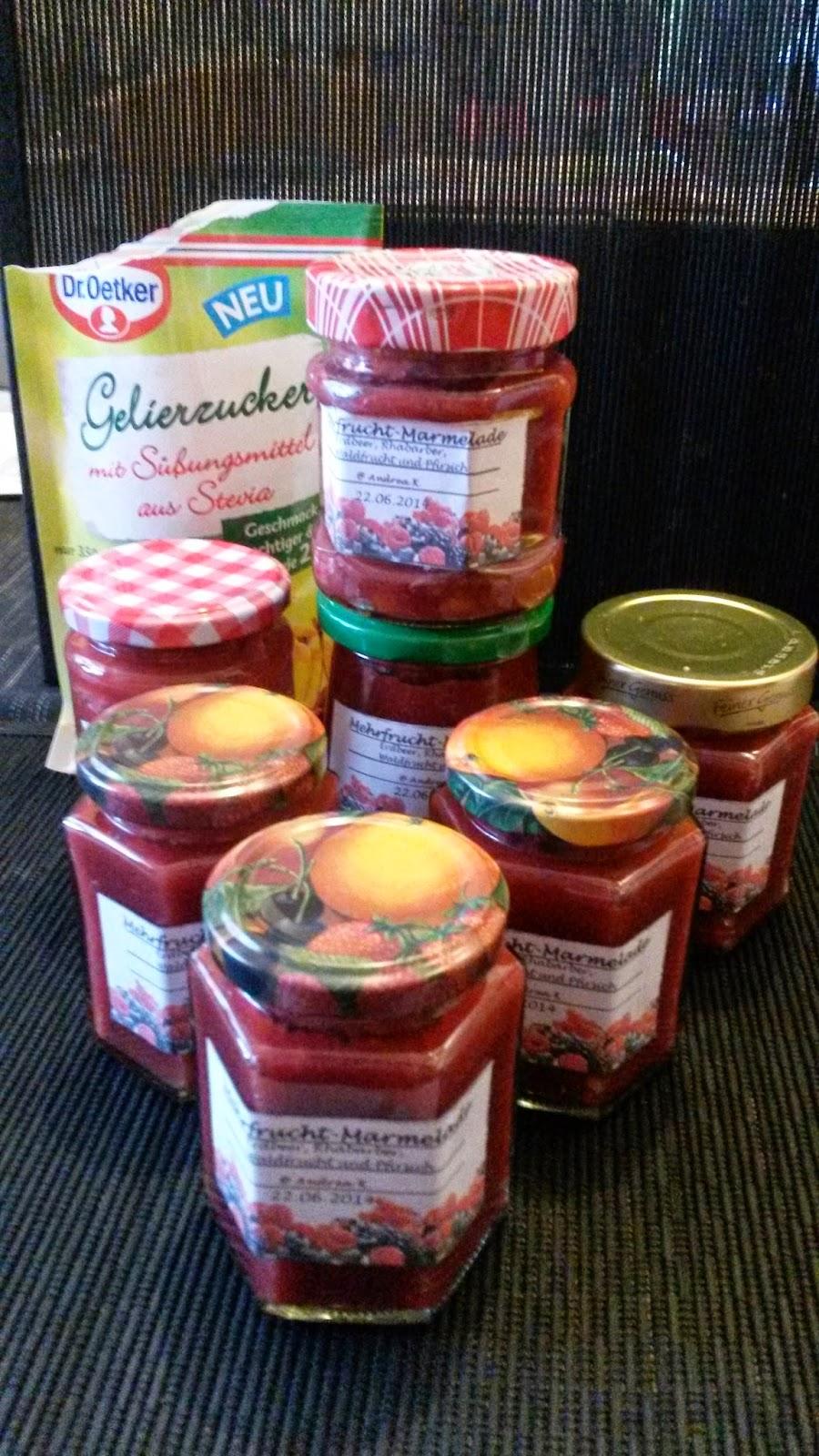 drea s tm und actifry rezepte welt mehrfrucht marmelade mit stevia gelierzucker. Black Bedroom Furniture Sets. Home Design Ideas