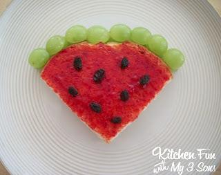Watermelon PB&J