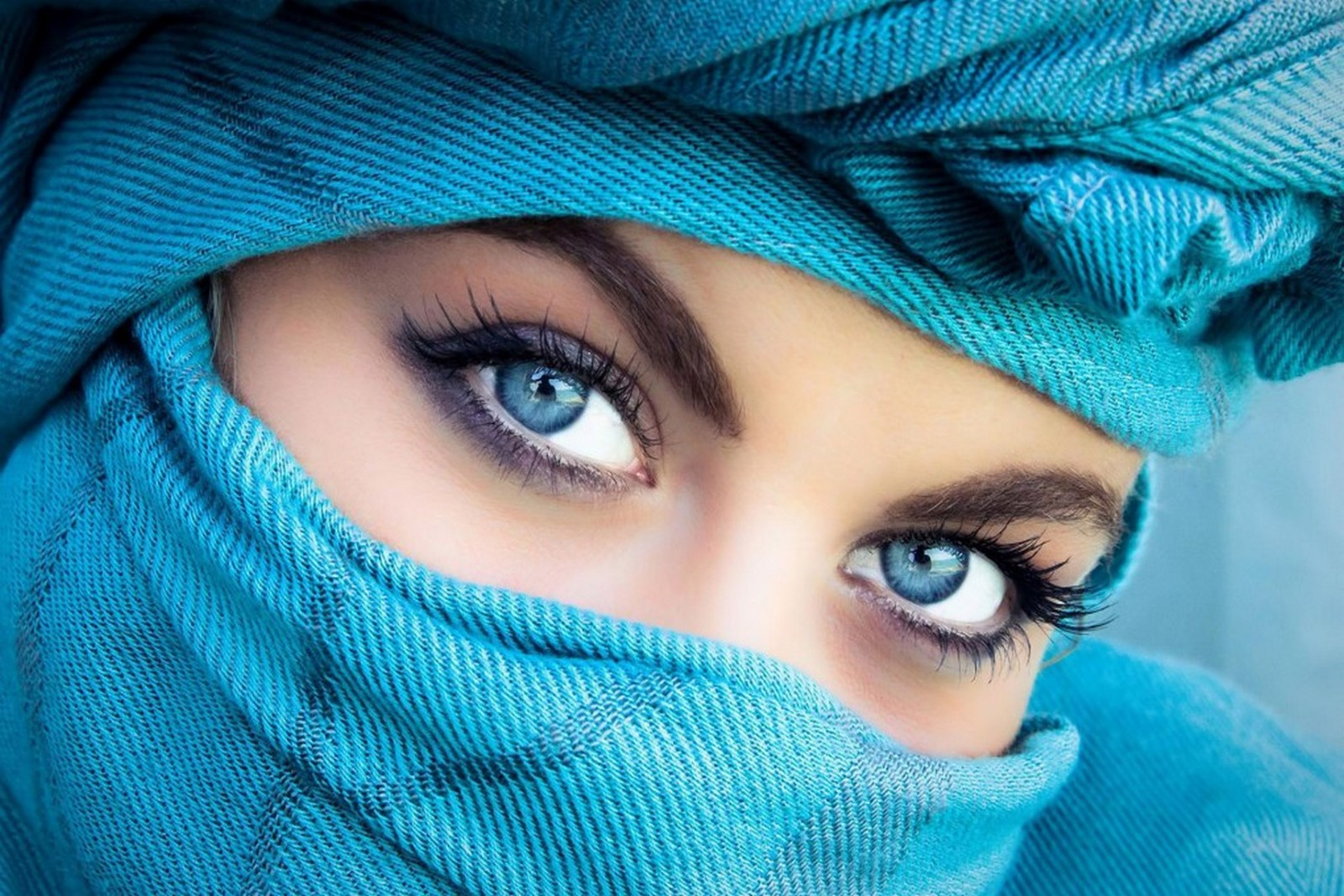 A Girl with Blue Eyes