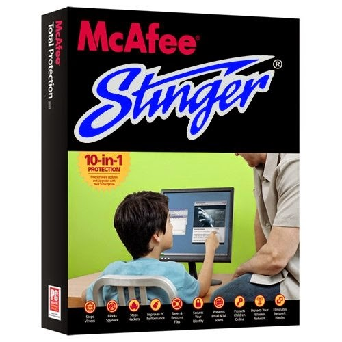 McAfee AVERT Stinger 12.1.0.893 Download