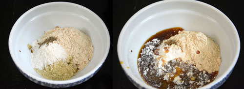 Appam with Rice flour-Wheat flour-Rava