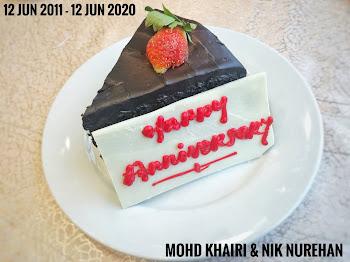 Happy 9th Wedding Anniversary