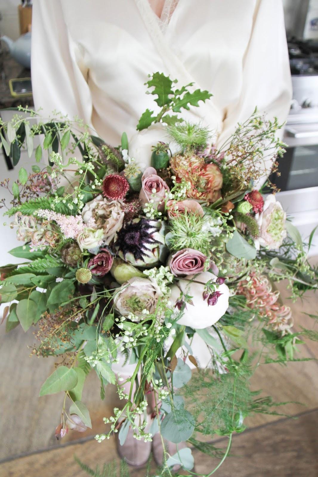 A Sneaky Peek At Ian Rebeccas Magical Whimsical Wedding Flowers