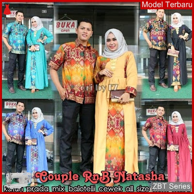 ZBT02809 Kebaya Dress Batik Natasha Baloteli Couple BMGShop