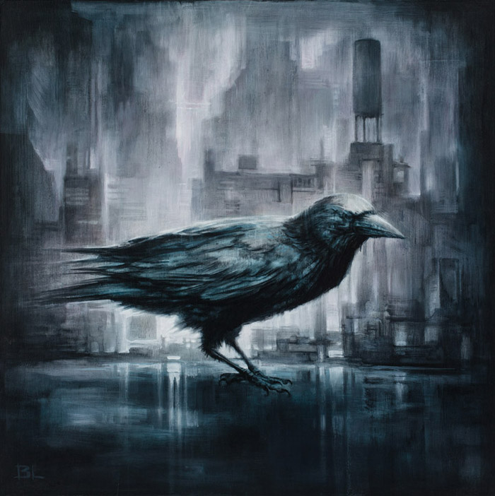 10-The-Crow-Brin-Levinson-Paintings-of-Nature-Reclaiming-Cities-www-designstack-co