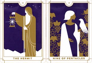 Two cards from the Everyday Tarot.