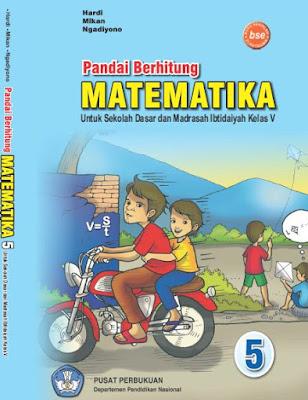Buku Pandai Berhitung Matematika SD-MI Kelas 5 Karya Hardi, Mikan, dan Ngadiyono