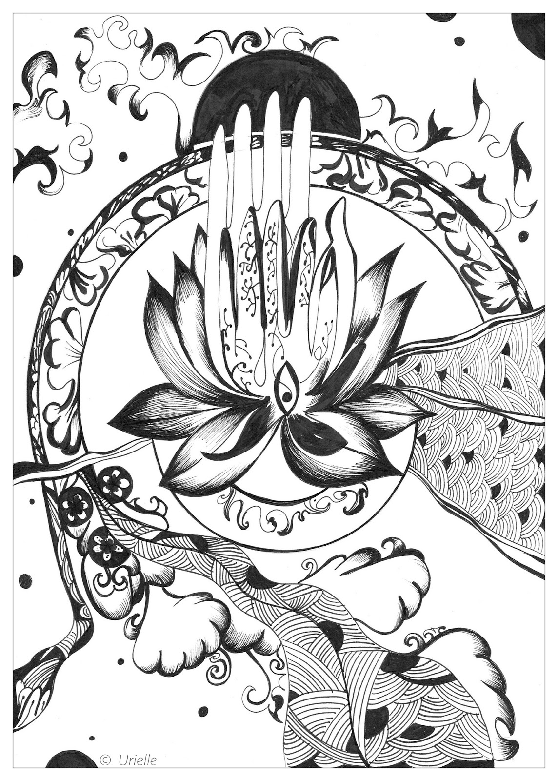 Free Zen Coloring Pages For Adults To Download