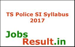 TS Police SI Syllabus 2017