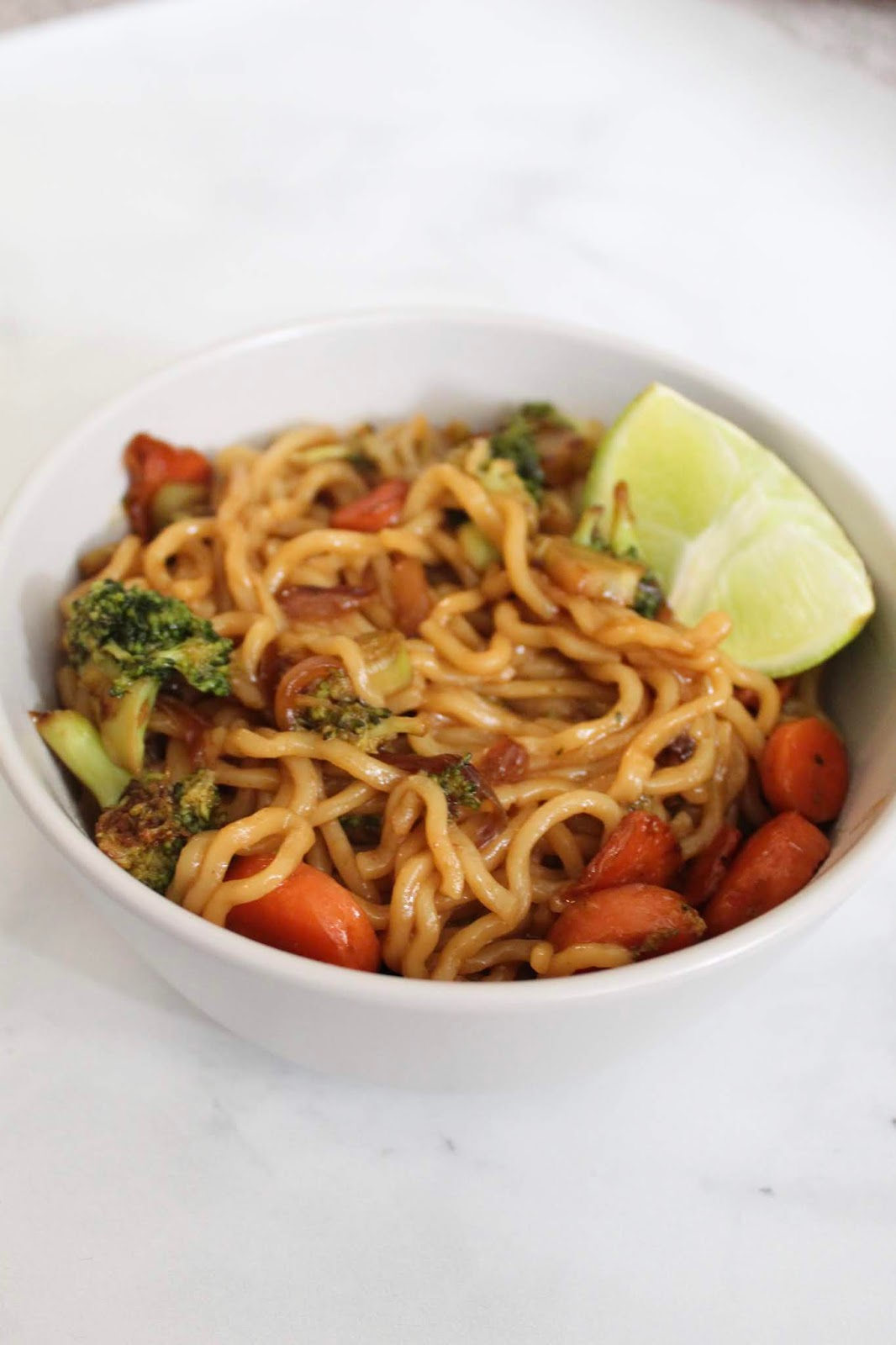 Quick & Delicious Vegan Ramen Noodle Stir Fry Recipe