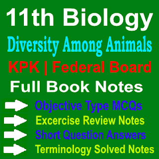 Biology 11th Class KPK and Federal Board Notes Chapter Nine