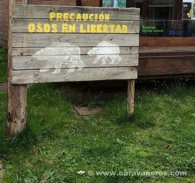 Oficina de turismo de La Plaza | Senda del Oso. Asturias