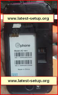 Gphone A2 New Mobile picture-Flash File-Firmware