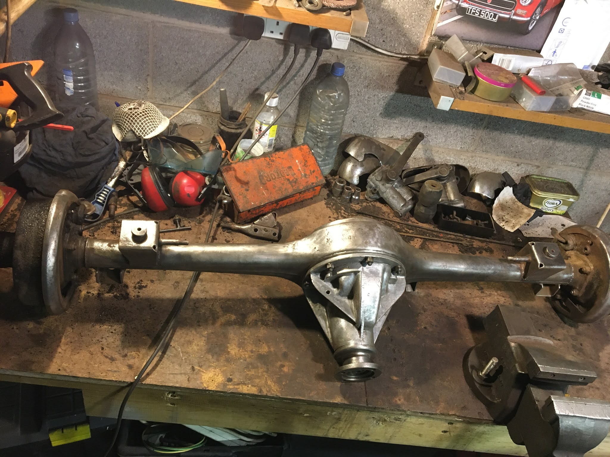 MG Midget 1965 MKII Restoration Project: Carb Clean Up