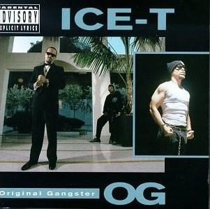 Ice-T O.G. Original Gangster album cover.  PunkMetalRap.com