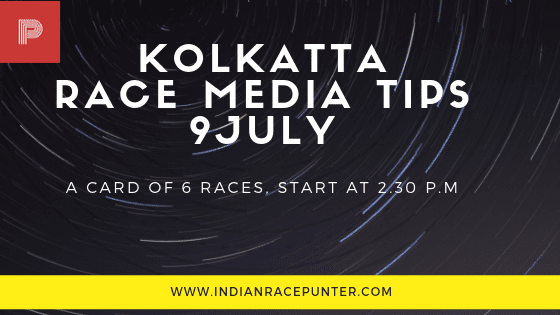 Kolkatta Race Media Tips 9 July, trackeagle, track eagle, racingpulse, racing pulse