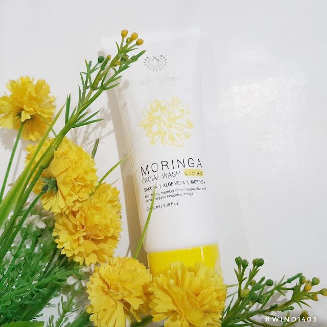 Review everShine Moringa Facial Wash