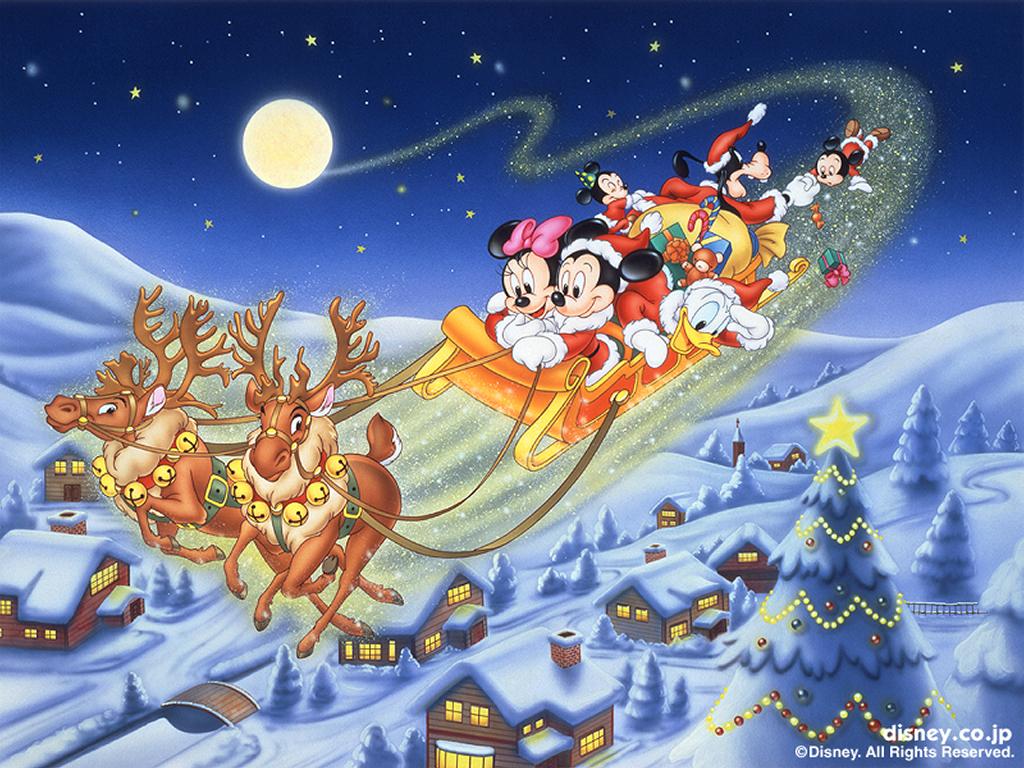 Wallpaper Mansion: Disney Christmas Wallpapers