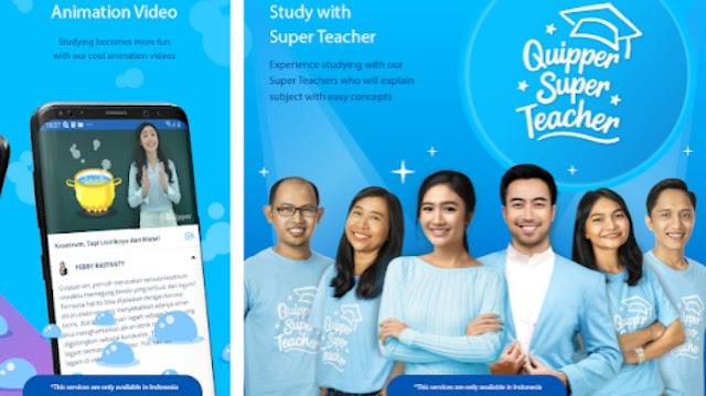 Aplikasi belajar online SD SMP SMA