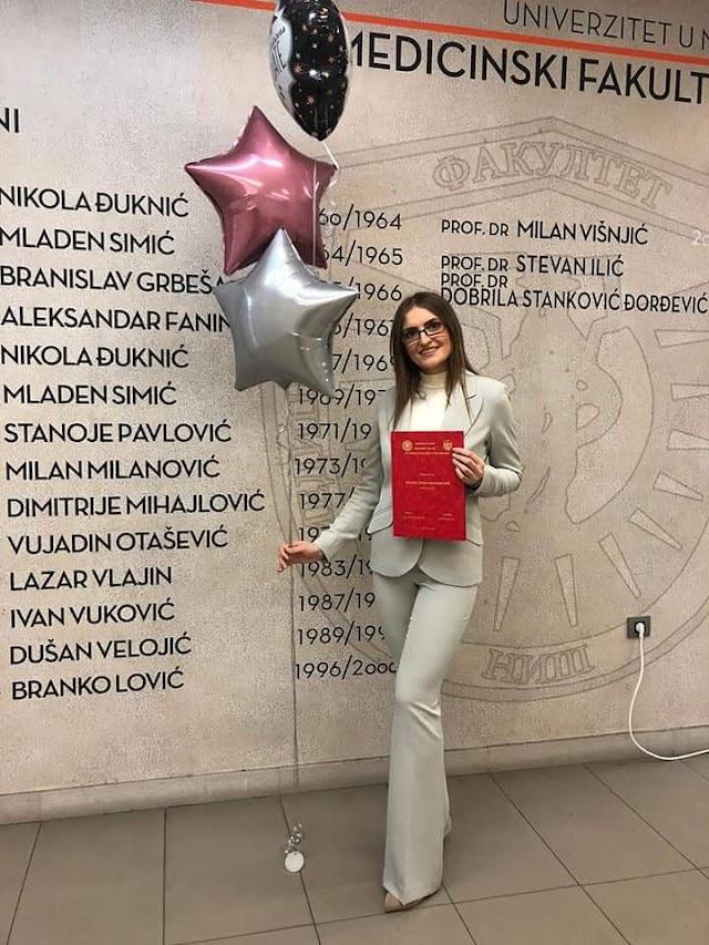 Amina Šahmanović-diplomirani doktor medicine