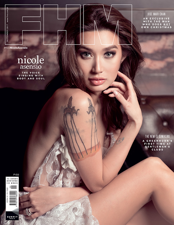 Nicole Asensio FHM September 2017