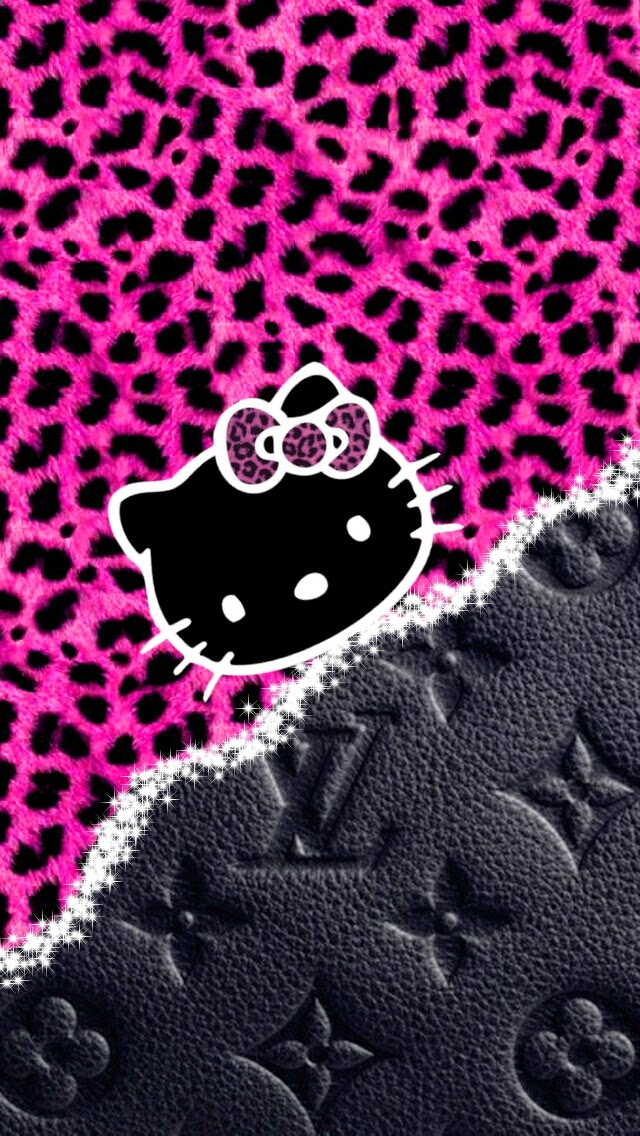 red leopard hello kitty wallpaper-#33