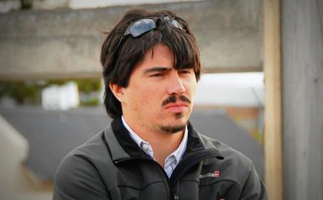 Los Sauces: Martín Báez llegó a Comodoro Py para presentar un escrito a Bonadio