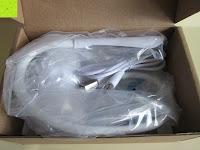 auspacken: GHB dimmbare LED Schreibtischlampe 3-Level Helligkeit 360° flexiblen Schwanenhals Tischlampe -Weiß [Energieklasse A+]