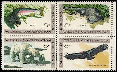 Sellos postales de vida salvaje