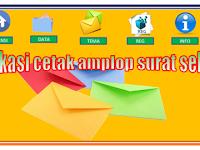 aplikasi cetak sampul surat sekolah