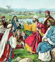 Paul Preaches to Gentiles