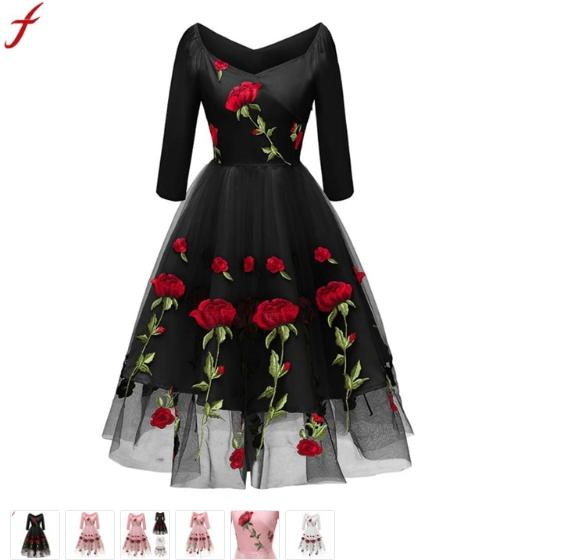 Vintage Clothing - Clubwear Dresses - Black And White Store Dresses