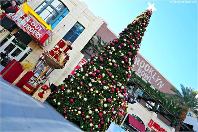 Navidad en Las Vegas 2017: Árbol en The Linq Promenade