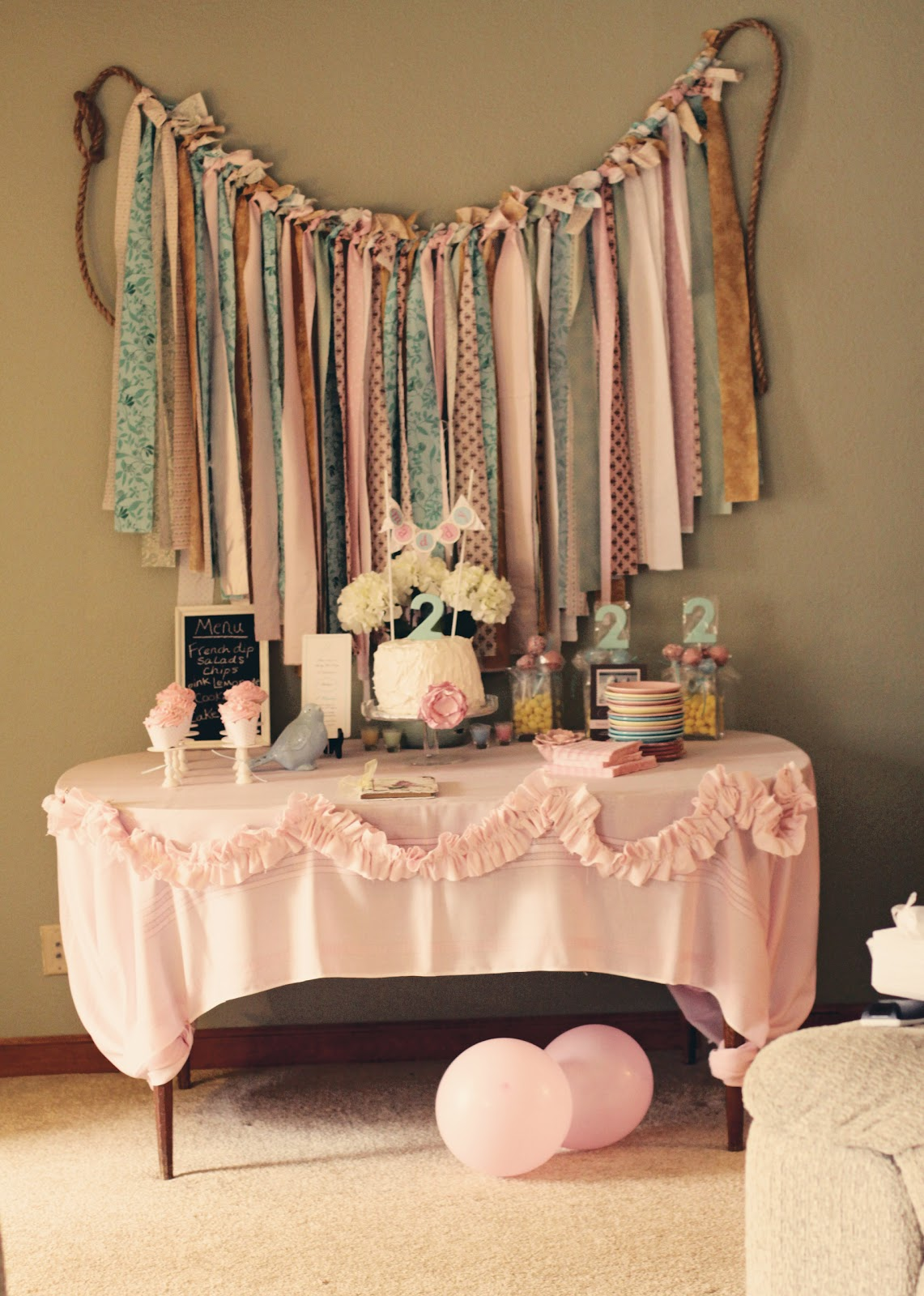 capturing the details of our life shabby chic birthday. Black Bedroom Furniture Sets. Home Design Ideas
