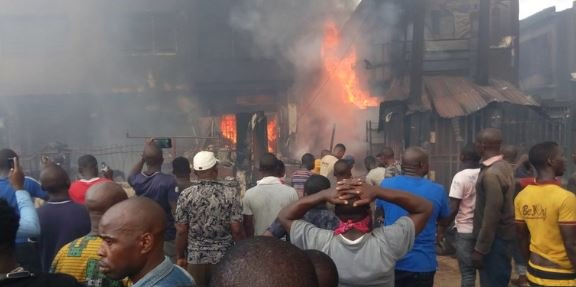 Onitsha fire victims: relief materials be hijacked